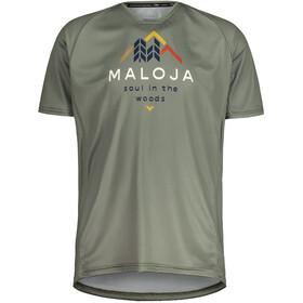 Maloja SchwarzerleM. Multi Short Sleeve Multisport Jersey Men, zielony